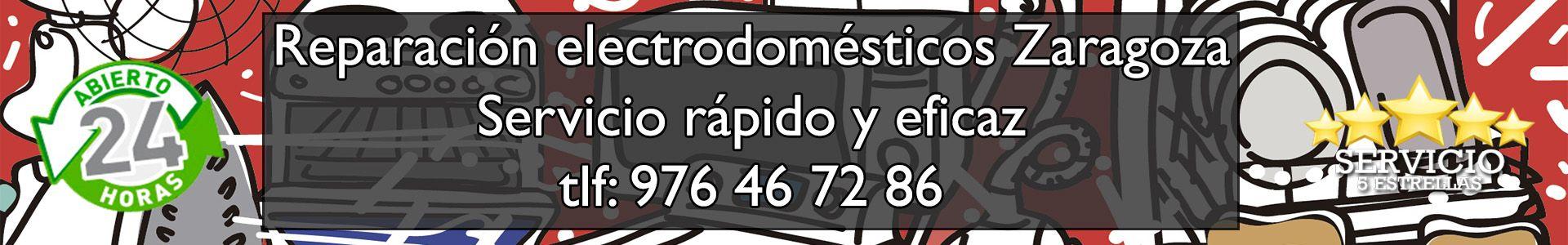 Reparación Electrodomésticos Zaragoza